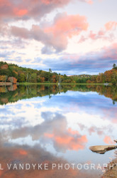 sunset Bass Lake North Carolina