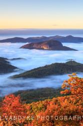 Looking Glass Rock North Carolina