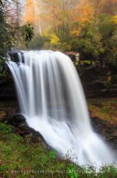 Dry Falls waterfall North Carolina