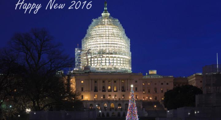 2016 New Year's Day Washington DC