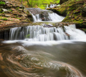 Ricketts Glen State Park Waterfall