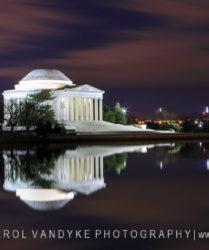 Jefferson Memorial, Washington DC, night