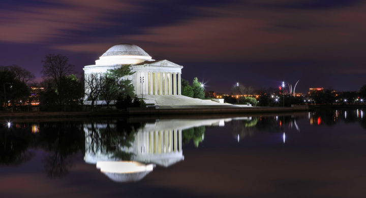Jefferson Memorial, Washington DC, night