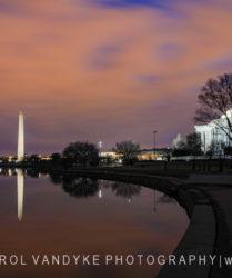 Washington Monument Jefferson Memorial DC