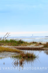 Morris Island Lighthouse, Folly Beach, Charleston, South Carolina, SC,