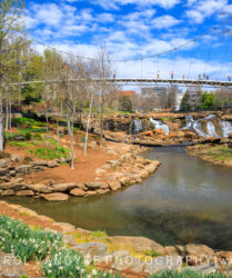 Liberty Bridge, Greenville SC