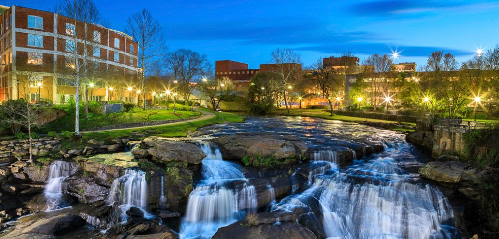 Reedy River Waterfalls, Greenville, SC