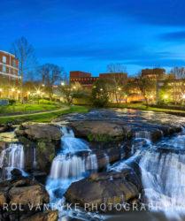 Reedy River Waterfalls, Greenville, SC