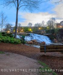 Falls Park, Reedy River Waterfalls, Greenville, SC