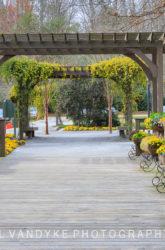 Gibbs Garden, Georgia, entrance, spring