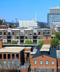 Greenville, South Carolina, rooftop view