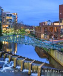 Greenville, South Carolina, Reedy River, downtown