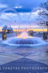 Charleston SC Waterfront Fountain