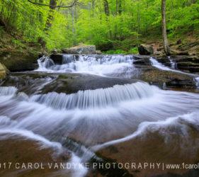 cascade, water, Kitchen Creek, Pennsylvania, Ricketts Glen State Park