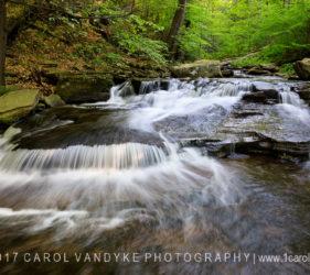 waterfall, Ricketts Glen State Park, Pennsylvania