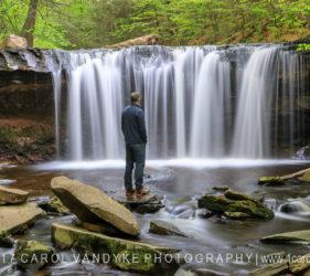 waterfall, Ricketts Glen, Pennsylvania