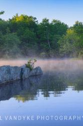 fog, Price Lake, North Carolina