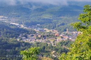 Boone, NC, fog